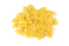 Pasta isolated on white. Royalty Free Stock Photo
