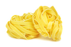Pasta isolated on white Royalty Free Stock Photography