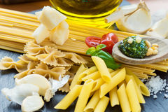 Pasta Italia Fotografia Stock