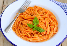 Pasta-Italian cuisine Stock Photography