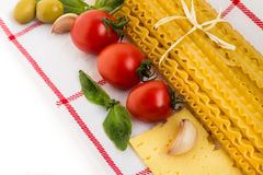 Pasta. Italian Cuisine. Stock Photos