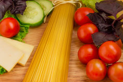 Pasta. Italian Cuisine. Stock Photo