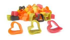 Free Pasta Italian Heart Shaped Royalty Free Stock Images - 12386929
