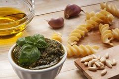 Pasta in Italian manner Stock Images