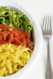 Pasta italiana Immagini Stock