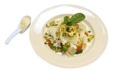 Pasta italiana imagem de stock