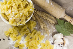 Pasta italiana immagini stock libere da diritti