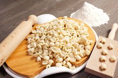 Pasta italiana casalinga Immagine Stock Libera da Diritti