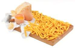 Pasta italiana, passatelle con l'uovo Immagine Stock Libera da Diritti
