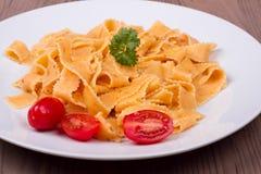 Pasta italiana tradizionale Immagine Stock Libera da Diritti