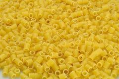Pasta italiana: Tubettoni Fotografie Stock