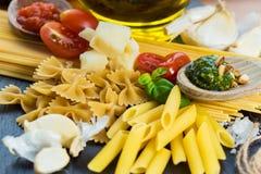 Pasta Italy Stock Photo