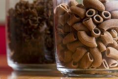 Pasta in a jar Stock Photos