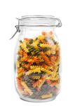 Pasta in a jar Stock Photography