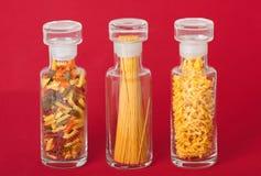 Pasta Jars Royalty Free Stock Photography