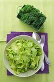 Pasta with kale pesto Royalty Free Stock Photos