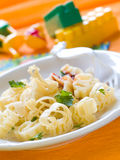 Pasta for kids Royalty Free Stock Photos