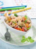 Pasta for kids Royalty Free Stock Photo