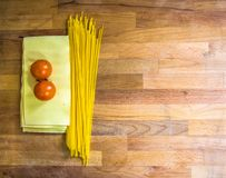 Pasta Lasagna And Tomatoes royalty free stock images