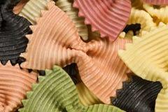 Pasta like butterflies. Stock Image