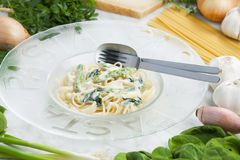 Pasta linguine Stock Photos