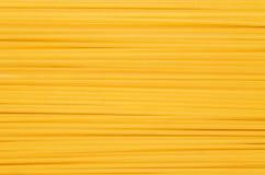 Pasta. Long pasta yellow closeup Stock Photos