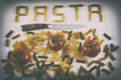 Pasta lunatica Fotografie Stock