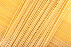 Pasta lying diagonally Royalty Free Stock Photo