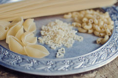 Pasta and macaroni Royalty Free Stock Images