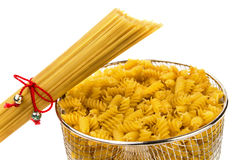 Pasta and macaroni Royalty Free Stock Photos