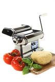Pasta machine Royalty Free Stock Images