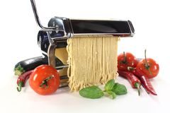 Pasta machine Stock Image