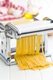 Pasta machine Royalty Free Stock Photo