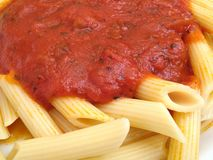 Pasta Macro Royalty Free Stock Photography
