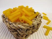 Pasta made of corn flour Royalty Free Stock Photos