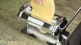 Pasta Maker 1 stock footage