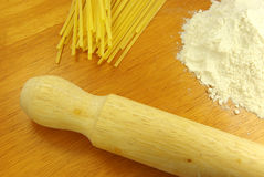 Pasta making Stock Photography