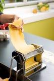 Pasta Making Detail Royalty Free Stock Image