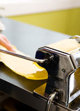 Pasta Making Detail Royalty Free Stock Photography
