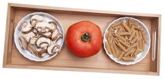 Pasta Making Ingredients Stock Photos