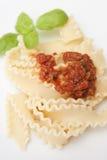 Pasta malfadine Stock Photography
