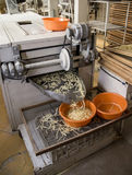 Pasta manufacturing Stock Photos