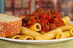 Pasta Meal Royalty Free Stock Photos