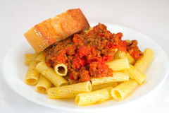 Pasta Meal Royalty Free Stock Images