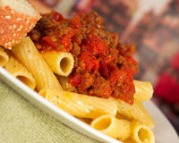Pasta Meal Stock Images