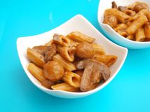 Pasta with meatballs Royalty Free Stock Photography