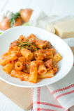 Pasta with meatballs Stock Image