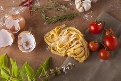 Pasta menu Royalty Free Stock Image