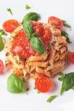 Pasta milanese Royalty Free Stock Image