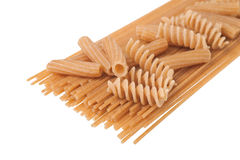 Pasta mix Royalty Free Stock Photography